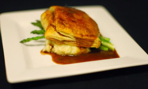 Downtown Bistro Beef Wellington