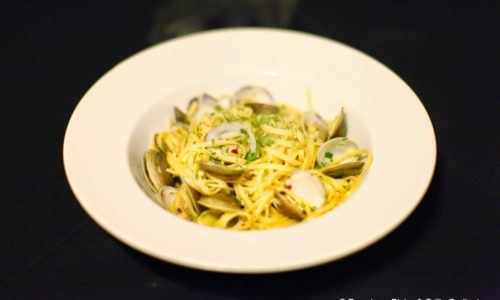 Downtown Bistro Dinner Linguine alle vongole